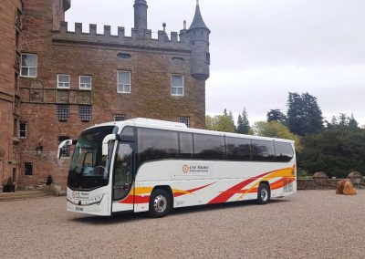 48 Seat Panther Executive at Glamis Castle by R. Wilson